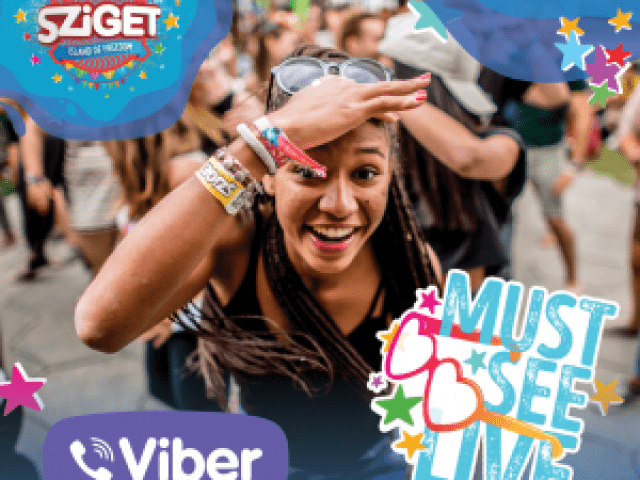 Sziget stickers now available on Viber